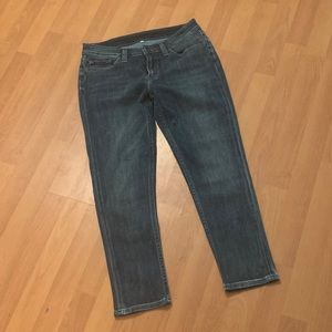 Levi's Cropped Ankle Skinny Jeans Size 30